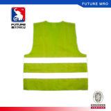 Hallo-namelijk het Weerspiegelende die Vest van de Veiligheid van de Geweven Polyester van 100% wordt gemaakt