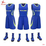 Kundenspezifische Sublimation-Basketball-Uniform-kundenspezifischer Basketball Jersey Sportwear