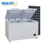 congelador de refrigerador profundo del refrigerador del pecho solar del compresor de la C.C. 12/24V