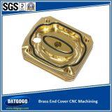 Couvercle en laiton avec usinage CNC