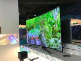 75inch gebogener UHD Fernsehapparat