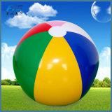 Commerce de gros ballon de plage gonflable plastique personnalisé
