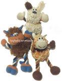 Stuk speelgoed van de Hond van de Stoffen van de Bouw van het Stuk speelgoed van het Huisdier van het gevecht het Sterke