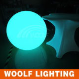 プラスチック防水浮遊LEDの多彩で明快な球