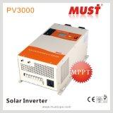 48V 6kw van Omschakelaar de Met lage frekwentie van het Zonnepaneel van het Net