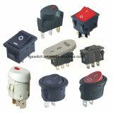 Power 16A Mini Micro Interruptor de Botão utilizado em aparelhos eléctricos