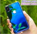 Geval van de Telefoon van de Kleur van het Geval van de spiegel het Harde Geleidelijke voor iPhone X