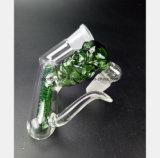Glaswasser-Rohr des Filter-Zigaretten-Feuerzeug-Zubehör-Huka-Gefäßes