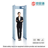 100 уровней безопасности 255 водонепроницаемый чувствительности металлоискателя дверной рамы для использования вне помещений