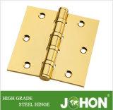 """Dobradiça de fricção de aço ou de porta de ferro (acessórios de móveis de 3,5 """"X3,5"""")"""