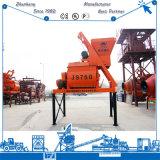 Preço Js750 do misturador de cimento da máquina do misturador concreto para a venda