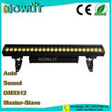 24pcs 10W Piscina RGBW LED Bañador de pared