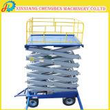 Table élévatrice de nettoyage de guichet pour la construction de nettoyage