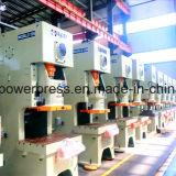 Máquina abierta de la prensa de potencia del capítulo de 100 toneladas C detrás