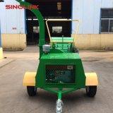 Houten Chipper van Dwc 18HP Ontvezelmachine /Log Mulcher met Dieselmotor