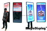 LED de exteriores e interiores de signo Mochila Caja de luz para promoción