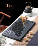 Cassetto di tè cinese del granito del nero del tè nero del tè verde del tè di Kung Fu