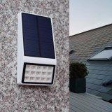 La energía solar de la pared exterior de la luz de LED para uso en el hogar Jardín