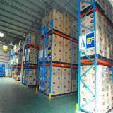 Almacén de Sistema de almacenamiento en estanterías de palets Metal