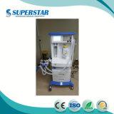 China Proveedores de las principales marcas de anestesia del hospital Médica Sistema vaporizador la máquina de anestesia S6100d