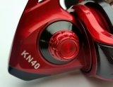 Rouleau de pêche à rouleaux de pêche de haute qualité avec rouleau en aluminium rouge