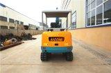 中国の熱い販売の小型クローラー掘削機Bd23 (2.3T/0.1m3)