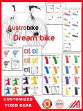 마그네슘 합금 바퀴 700c는 속도 판매를 위한 싼 조정 기어 자전거를 골라낸다