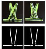 ライト級選手および容易に調節可能な機能が付いている反射ベルトのベスト