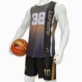 Healongの上の販売のスポーツ・ウェアの昇華印刷の可逆バスケットボールジャージー