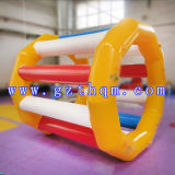Giocattoli gonfiabili dell'acqua della tela incatramata del PVC del grado commerciale/trampolini gonfiabili dell'acqua