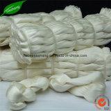 100% 실크 털실 손 뜨개질을 하는 털실