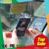 QR 부호를 가진 EPC1 GEN2 RFID UHF 바람막이 유리 꼬리표 주차 카드