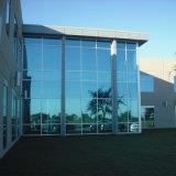 alto 12mm vetro temperato laminato trasparente dell'edificio per uffici di 10mm