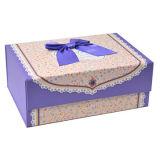 Dulce personalizado papel plegable Caja de regalo