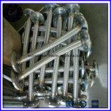 Mangueira de metal flexível de aço inoxidável a mangueira de Teflon do tubo flexível de escape