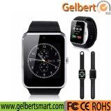 スマートな電話のためのGelbert SIMのカードの大人のスマートな腕時計Gt08