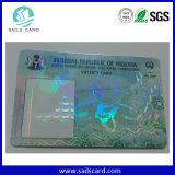 Cifrado de alta frecuencia de la lógica de seguridad de tarjetas inteligentes sin contacto