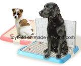Toilet van het Huisdier van de Hond van de Levering van het Huisdier van het Dienblad van het huisdier het Onbenullige Draagbare