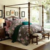 アメリカの標準的な様式の高品質の綿の寝具セット