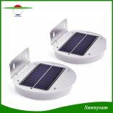 2つの働くモードの半円形の太陽動きセンサー28 LEDの壁の庭ライト