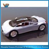 Drucken-Prototyp des vorbildlichen Auto-3D