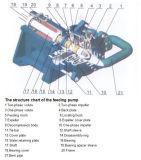 遠心ミネラル処理の縦の浸水許容のスラリーポンプ