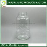 grande bocca di colore bianco 750ml con la bottiglia vuota di plastica