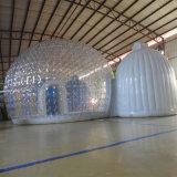 Chambre à bulles gonflable pour le camping