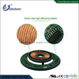 Modello economico standard del Qi del caricatore del singolo caricatore senza fili astuto senza fili astuto veloce della bobina