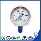 Venda por grosso de design novo medidor de pressão de aço inoxidável com preço de fábrica