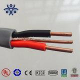 China-Lieferant Kurbelgehäuse-Belüftung isolierte der 3 Kern-flexiblen Flachkupfer-Kabel-Draht