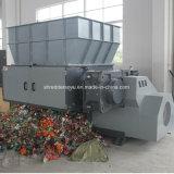 Reciclaje de la máquina machacante plástica inútil
