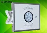 Réverbère solaire Integrated extérieur de l'éclairage DEL de jardin pour le jardin