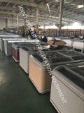 Congelatore industriale commerciale per il supermercato